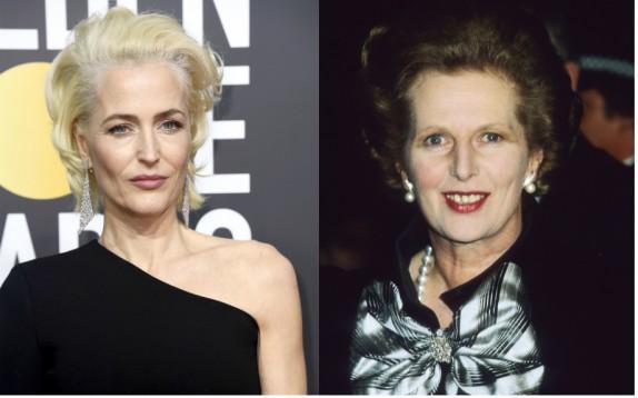 Gillian Anderson sarà Margaret Thatcher