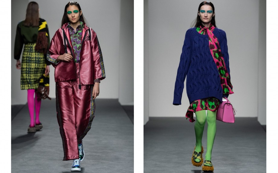Beauty trend dalle passerelle: il make-up fluo