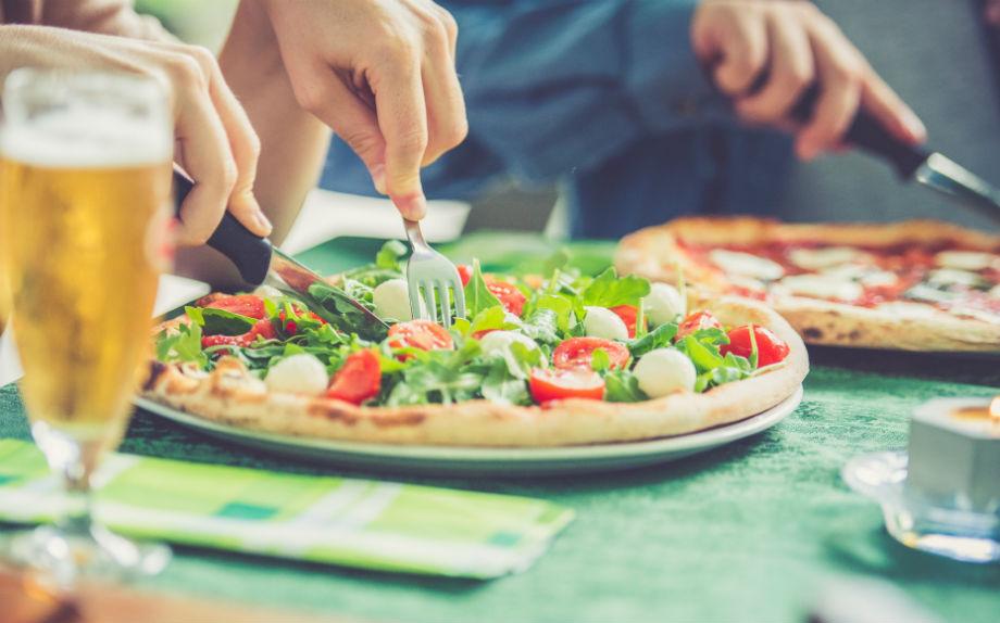 pizza piatto pizzeria