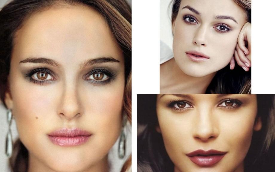 Natalie Portman, Keira Knightley, Catherine Zeta Jones - Pic credit Pinterest