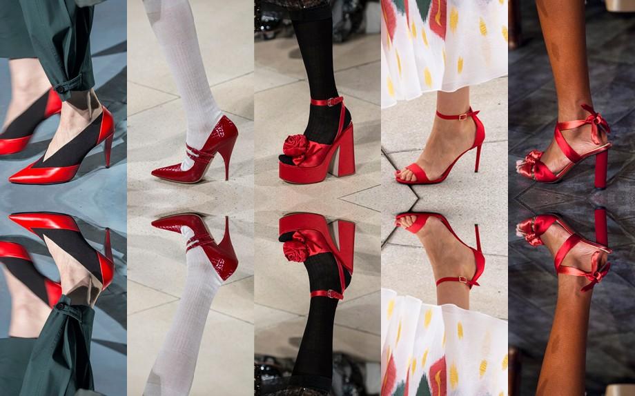 on sale 64ed8 5af84 Accessori di primavera: perché le scarpe rosse sono il nuovo ...