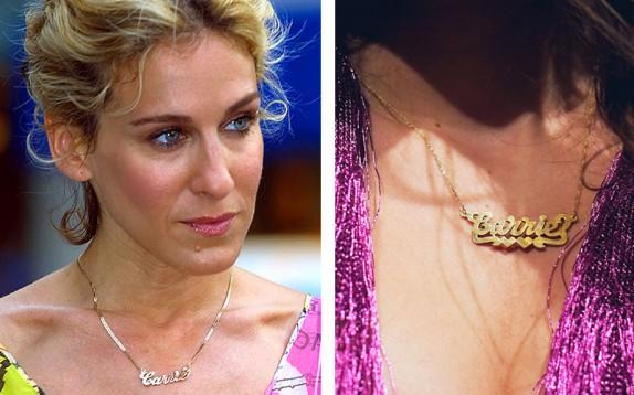 Carrie 2.0 è la collana da indossare, again. Parola di Patricia Field