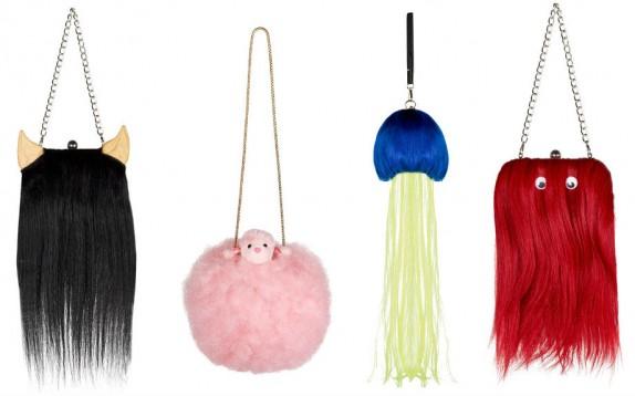 Scelto da Glamour: le borse di Charlie Le Mindu per Madem Paris (fatte con le parrucche!)