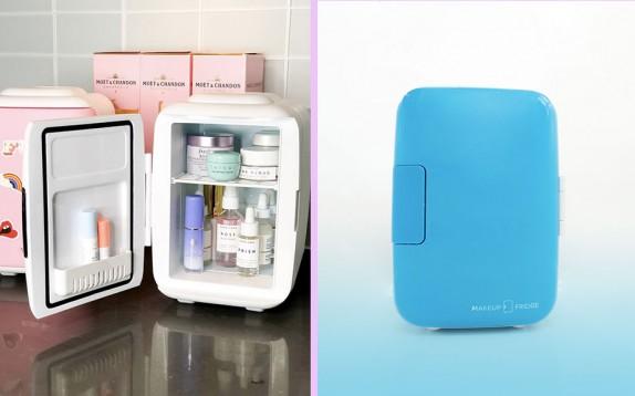 La nuova tendenza beauty sono i mini frigo per cosmetici