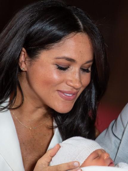meghan markle e royal baby