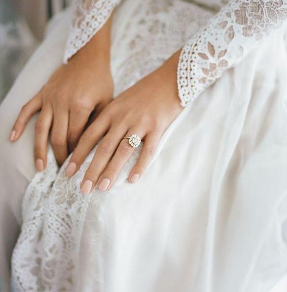 unghie matrimonio