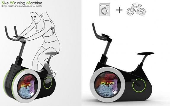 La cyclette ecologica con cui ti alleni e fai lavatrice
