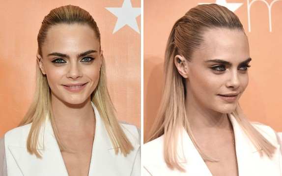Acconciature per l'estate: il semi-raccolto chic come Cara Delevingne