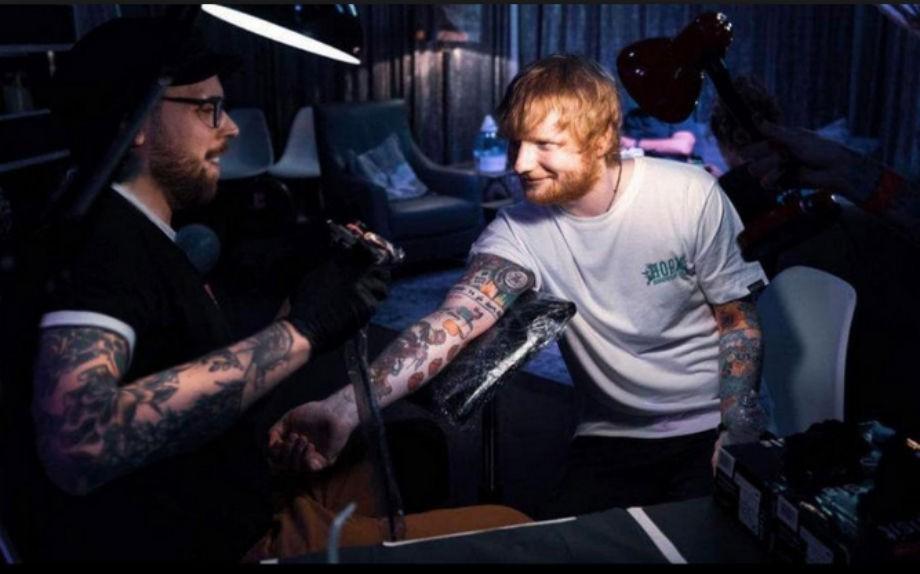 Carloxid con Ed Sheeran
