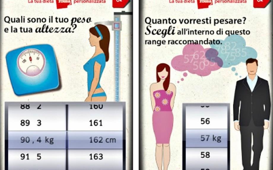 dieta per contrassegnare e definire il corpo