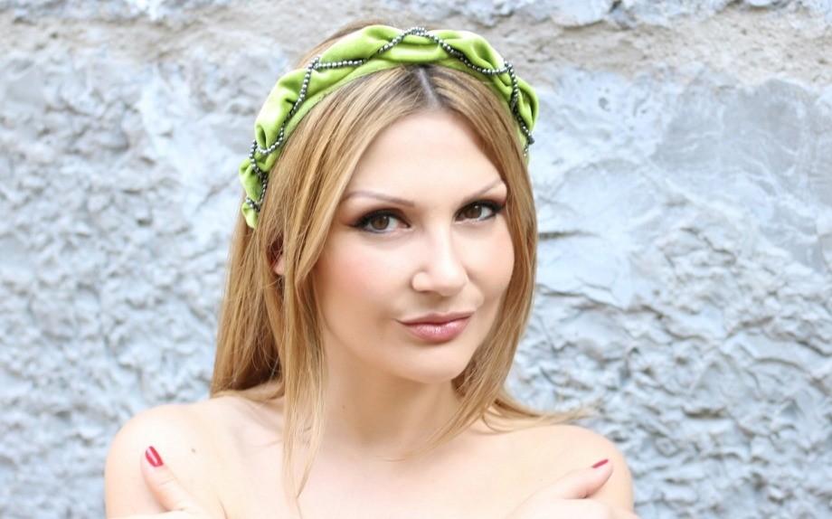 Cerchietto Bombato Moda Glamour Valeria Arizzi
