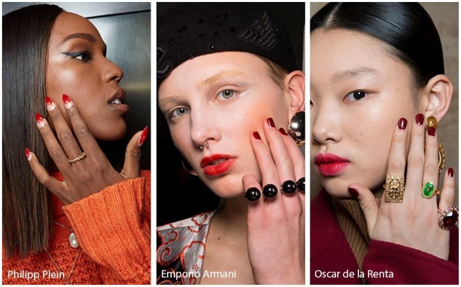 Tendenze moda unghie Autunno Inverno 2019