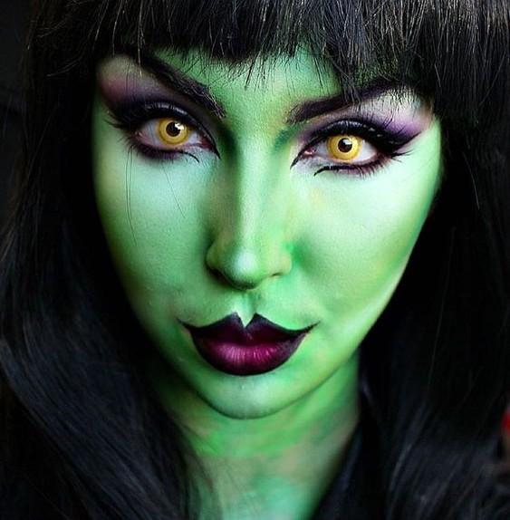 Trucco Halloween strega