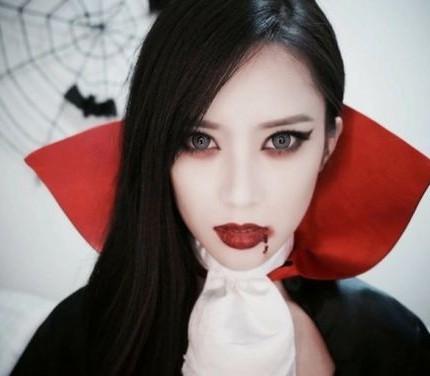 Trucco Halloween Vampira