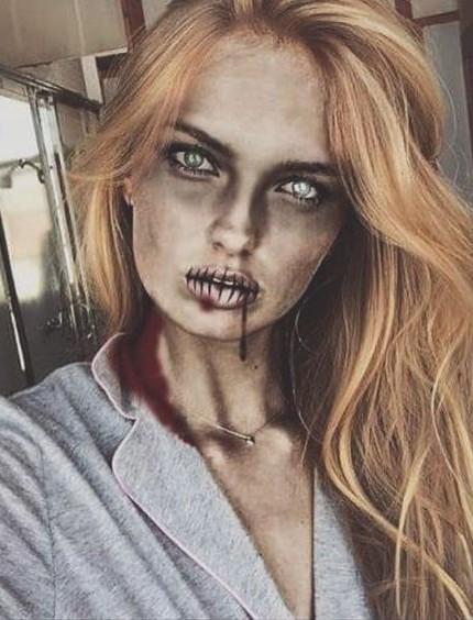 Trucco Halloween Zombi