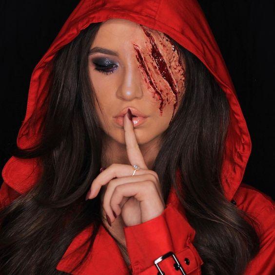 Trucco Halloween ragazza