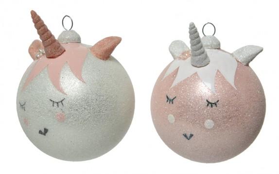 Addobbi per l'albero di Natale: arrivano le palline Unicorno
