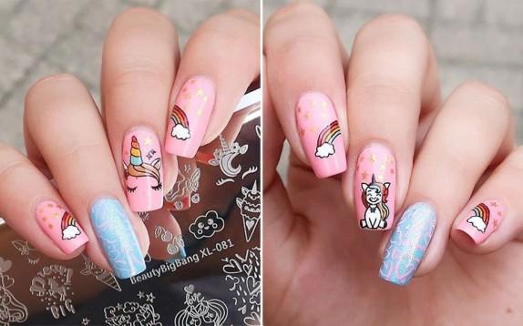 La manicure unicorno da provare