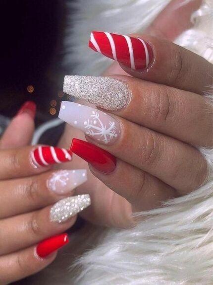 Nail art natalizzie