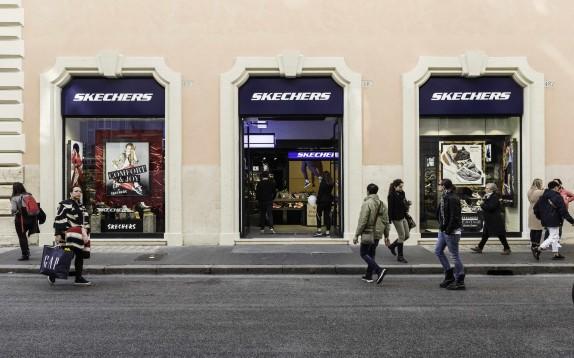 Skechers apre a Roma il suo primo flagship store italiano