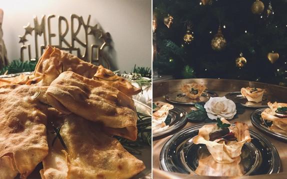 3 antipasti per Natale, semplici e veloci, a base di pane carasau
